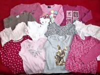 LARGE Bundle of little girl clothes age 9/12 to 24+ months. Summer and winter.