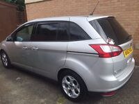 Ford Grand C-Max 1.6 (113bhp) TDCI zetec 62 plated( 7 Seater ) Sat Nav