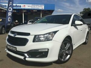 2016 Holden Cruze JH MY16 SRI Z-Series White 6 Speed Automatic Sedan