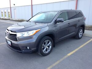 2015 Toyota Highlander AWD LE PLUS Navigation SUV, Crossover
