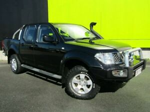 2011 Nissan Navara D40 ST (4x4) Black 6 Speed Manual Dual Cab Pick-up Underwood Logan Area Preview