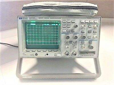Agilent Hp Keysight 54645d Mixed Signal Oscilloscope With 54659b Module