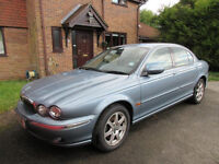 JAGUAR X TYPE SALOON ONLY 2 OWNERS FROM NEW FULL SERVICE HISTORY 12 MONTHS MOT