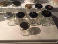 12 Jam Jars. Collect from Fulham