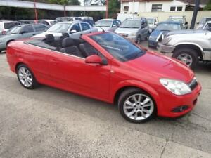 2008 Holden Astra AH MY08.5 Twin TOP Red 4 Speed Automatic Convertible Sylvania Sutherland Area Preview