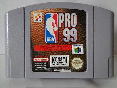 N64 Spiel - NBA Pro 99 (PAL) (Modul) 10636114
