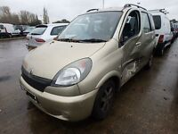 TOYOTA YARIS VERSO FOR PARTS AND BREAKING