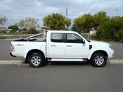 2010 Ford Ranger PK XLT (4x4) White 5 Speed Automatic Dual Cab Pick-up Albert Park Charles Sturt Area Preview