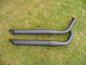 "2009 Kawasaki OEM ""Vulcan 900 Custom"" Exhaust Pipes"