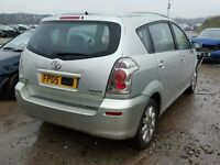 TOYOTA COROLLA VERSO 2.0 D4D BREAKING FOR SPARES TEL 07814971951 WE HAVE FEW IN STOCK