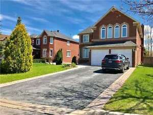 Spacious 5+1 Bdrm Detached House Back On  Natural Trail & Forest