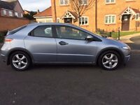 HONDA CIVIC 2.2 CDTI ES, 2006, PAN ROOF, SERVICE HISTORY, 2 KEYS, GREAT ON DIESEL £1800