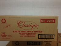 Kraft 205, Singlefold, Bathroom tissue 2 ply