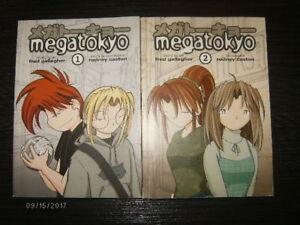 2 manga MEGATOKYO # 1 et 2