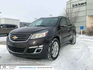 2015 Chevrolet Traverse LT/ALL WHEEL DRIVE/CLEAN CAR PROOF/ONE O