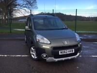 Peugeot Partner 1.6HDi Tepee Outdoor 2012 62 *LOW MILES, FSH, IMMACULATE CAR*