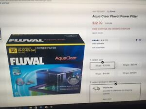 FLUVAL FILTER,BOXES OF NEW MEDIA,SPARE PARTS & MANY ACCESSORIES
