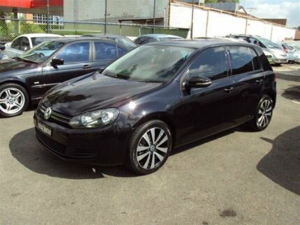 2010 Volkswagen Golf 1K MY10 118 TSI Comfortline Black 7 Speed Auto Direct Shift Hatchback Punchbowl Canterbury Area Preview