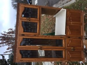 Free Dinning Table and Kitchen Cabinet