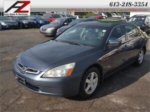 2005 Honda Accord Sdn EX-L 4 Cylinder  CERTIFIED Leather Seats