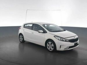 2016 Kia Cerato YD MY17 S Clear White Sports Automatic Hatchback Geebung Brisbane North East Preview