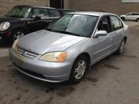 2001 Honda Civic LX-G AS-IS FRESH TRADE-IN! FIRST $750 TAKES IT!