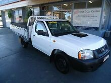 2008 Nissan Navara D22 MY08 DX (4x2) White 5 Speed Manual Cab Chassis Hamilton Newcastle Area Preview