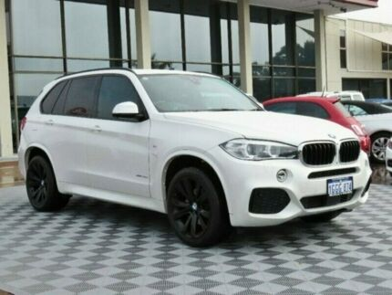 2014 BMW X5 F15 xDrive30d White 8 Speed Sports Automatic Wagon Alfred Cove Melville Area Preview