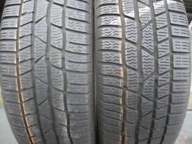 205 50 17 Continental,Conti Winter TS830P,M+S,Winter tyre,93H x2 A Pair, 7.0mm(Braintree, CM7 2QS)