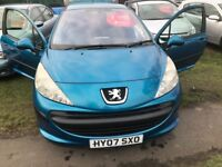 PEUGEOT 207 1.4 VERY GOOD CONDITION 78000 MILES ONE YEAR MOT DRIVES PERFECT NO FAULTS