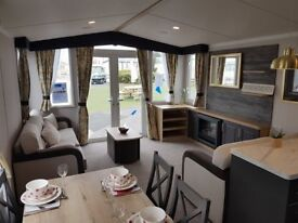 Static Caravan NEW 2018 DECKING HAVEN 2 bedrooms Site Fees Included until 2020 Filey Scarborough