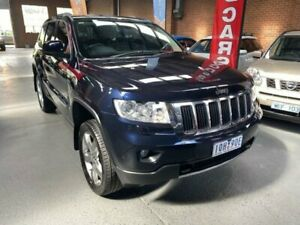 2011 Jeep Grand Cherokee WK Limited (4x4) Blue 5 Speed Automatic Wagon