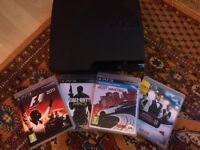 PS3 Playstation 3 slimline with Games!