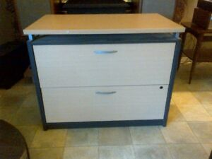 2 Drawer Legal, Lateral Filing Cabinet