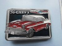 56 Chevy Belt Buckle