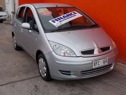 2005 Mitsubishi Colt RG LS Silver 1 Speed Constant Variable Hatchback Broadview Port Adelaide Area Preview