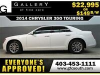 2014 CHRYSLER 300 TOURING *EVERYONE APPROVED* $0 DOWN $149/BW!