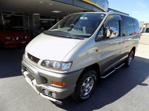 2001 Mitsubishi Delica SPACE GEAR Silver Automatic WAGON PEOPLE MOVER Brendale Pine Rivers Area Preview