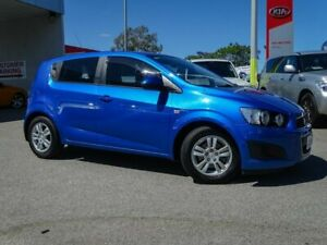 2012 Holden Barina TM MY13 CDX Blue 6 Speed Automatic Hatchback Morley Bayswater Area Preview