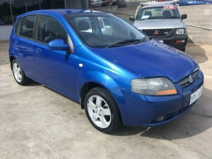 2007 Holden Barina TK MY08 Blue 4 Speed Automatic Hatchback Fyshwick South Canberra Preview