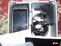 LG KP500 UNLOCKED SMART PHONES BOXED BLACK.