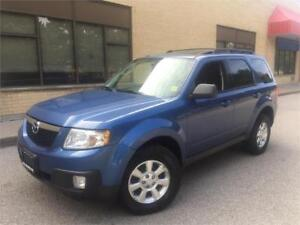 2009 MAZDA TRIBUTE GS *LEATHER,SUNROOF,ONLY 133,000KM,4WD!!!*