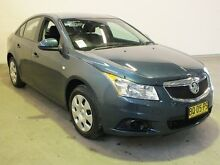 2012 Holden Cruze JH MY12 CD Blue 6 Speed Automatic Sedan Westdale Tamworth City Preview