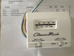 Thermostat Coleman