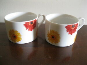 PAIR OF SPECIALTY COFFEE or TEA CUPS-EXCELLENT CONDITION!