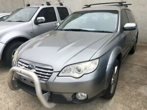 2007 Subaru Outback MY07 2.5I Grey 4 Speed Auto Elec Sportshift Wagon Hoppers Crossing Wyndham Area Preview
