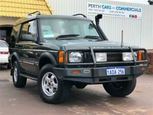 1999 Land Rover Discovery TD5 (4x4) Green 4 Speed Automatic 4x4 Wagon East Victoria Park Victoria Park Area Preview