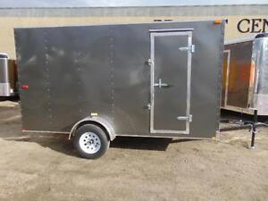 2016 Mirage 6X12 V-Nose Cargo Trailer w. Extra Height and Rear R