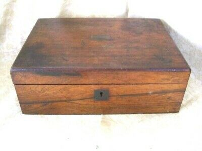 Antique Mahogany  Writing slope ~ NO key