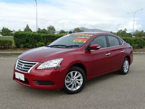 2014 Nissan Pulsar B17 ST Red Continuous Variable Sedan Vincent Townsville City Preview